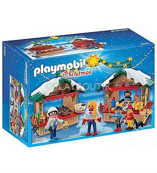 playmobil 5587 marché de noel
