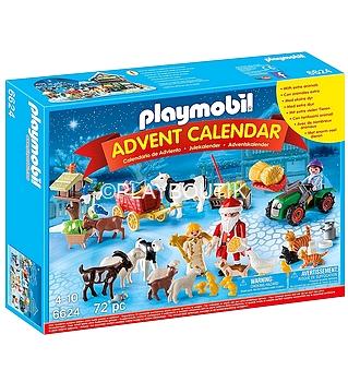 calendrier de l`avent playmobil 6624