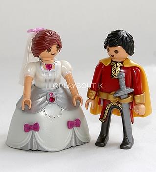 playmobil couple mariage princier