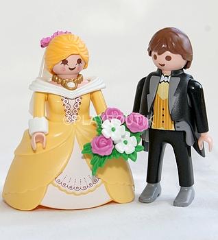 couple playmobil mariage