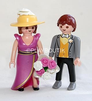 jeune marie et chapeau playmobil