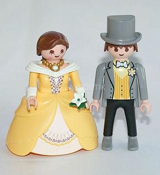 playmobil maries figurine piece montee