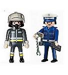 personnage playmobil pompier